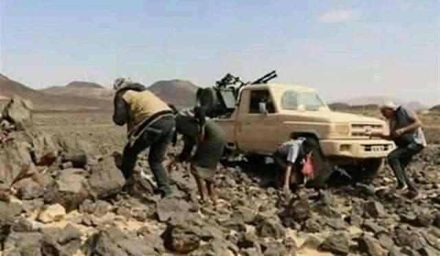 القوات الحكومية تحبط هجوما حوثيا في الجوف